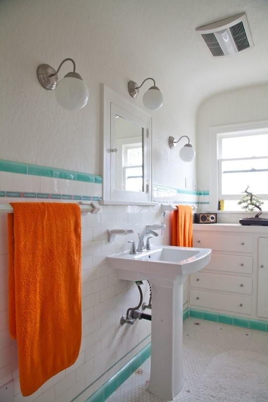 Полотенца в ванной