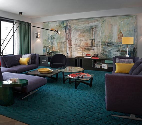 Дизайн современной гостиной в Москве