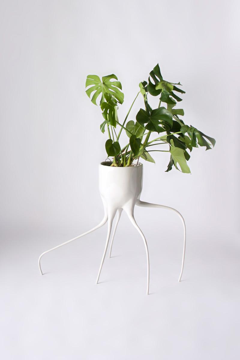 Дизайнерский цветочный горшок