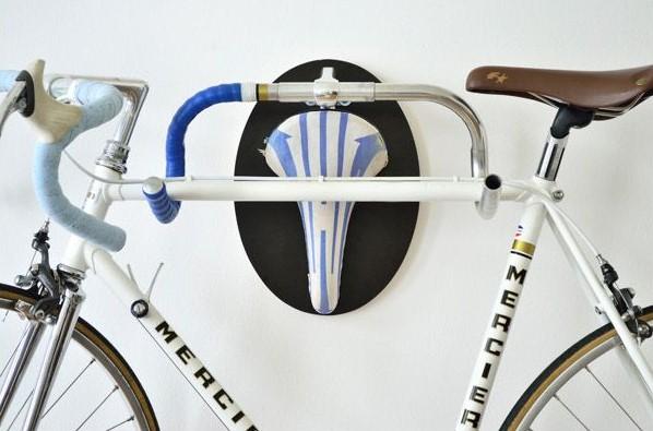 Крепление для велосипеда из старого руля