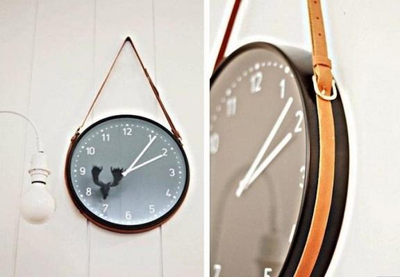 Способ повесить настенные часы