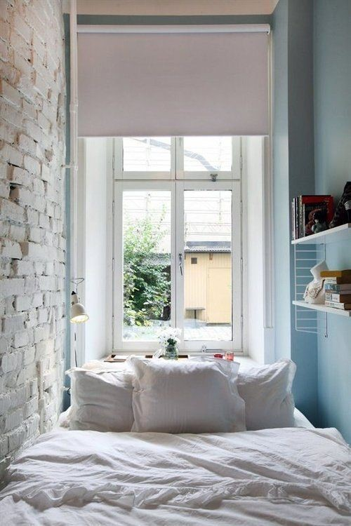 Спальня в маленькой квартире