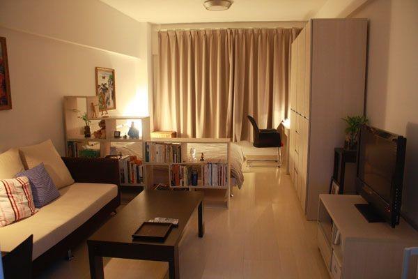 Правильно подобранные шторы для маленькой квартиры