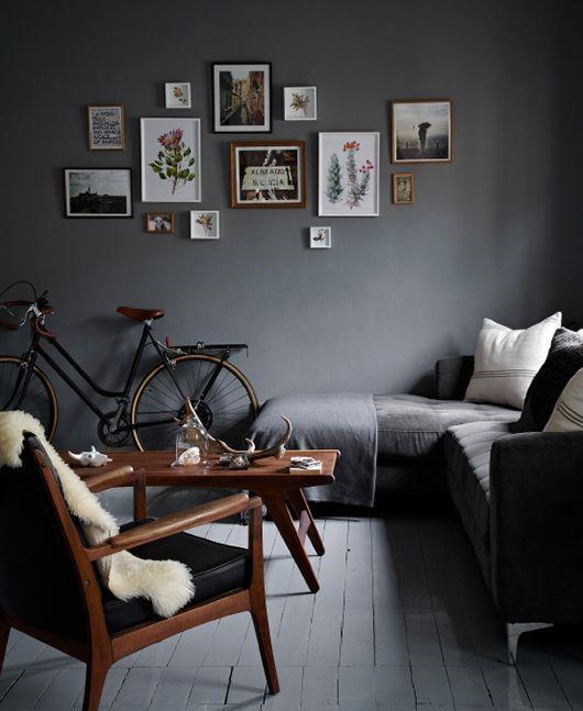 Мебель на ножках в маленькой квартире