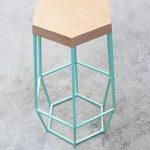 Шестиугольная табуретка/стул