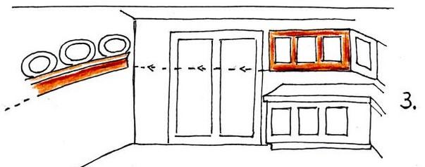 Пример симметрии в интерьере