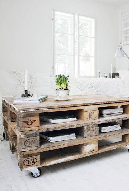 Кофейный столик из паллет