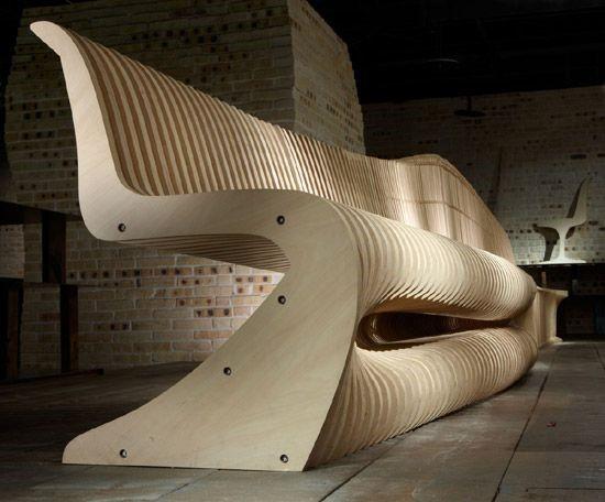 Параметрический диван
