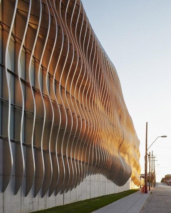 Параметрический дизайн фасада здания