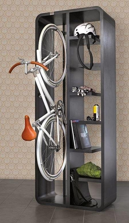 Велосипед в шкафу