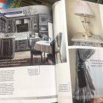 Публикация дизайн-проекта интерьера Надежды Кузиной в интерьерном журнале