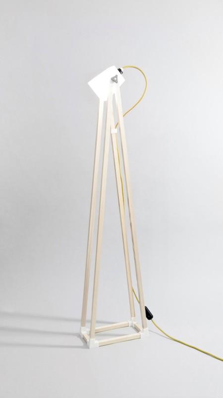 Лампа напечатанная на 3D принтере