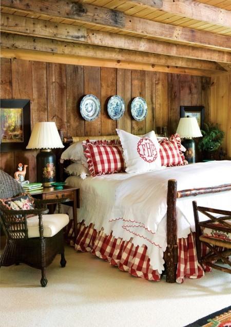Кровать с декором Буффало шик