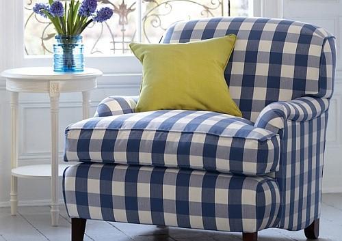 Кресло в стиле королевы Шарлотты