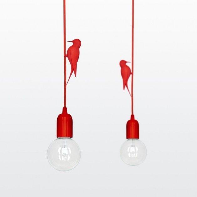 Украшения в виде птиц для электрических подвесов. 3д печать.