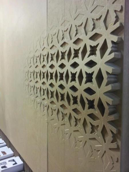 Фигурный 3д декор для стен