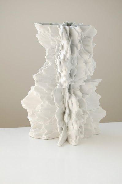 Необычная ваза напечатанная на 3D принтере