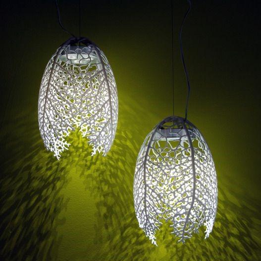 3d печать. Современные светильники для интерьера.