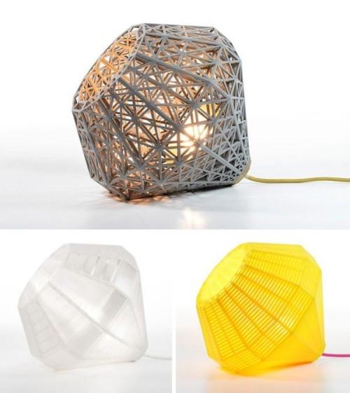 Различные варианты подвесных светильников напечатанных на 3д принтере