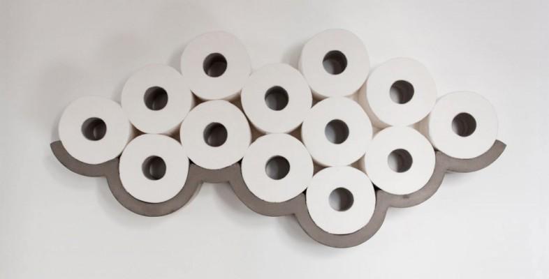 Декоративные держатель для туалетной бумаги в виде облака