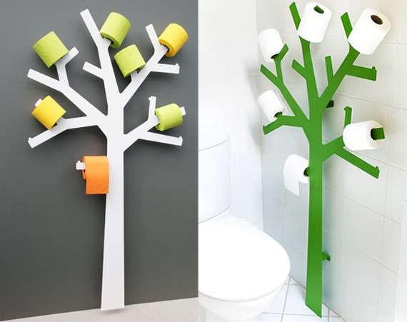 Декржатель для туалетной бумаги в виде дерева