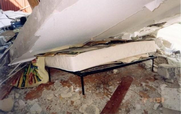 Перекрытие упало в квартиру