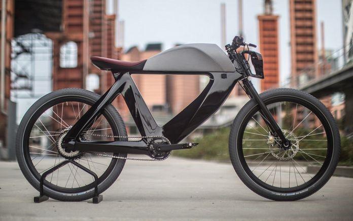 Велосипед в стиле Хай Тек