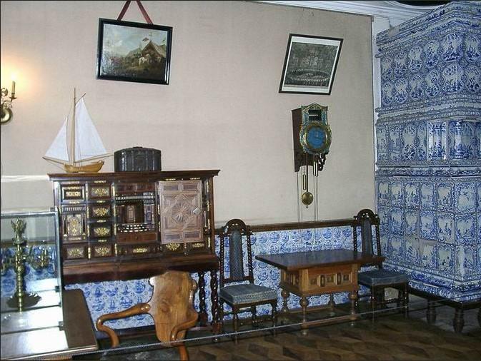 Кабинет Петра I из Летнего Дворца
