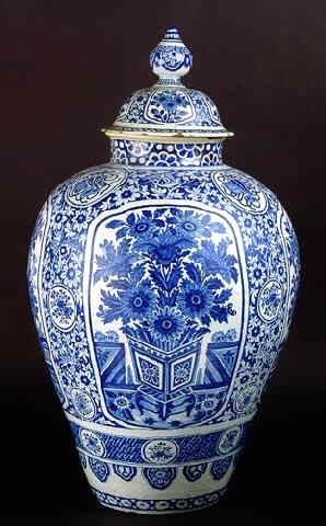 Голландская псевдо-китайская ваза