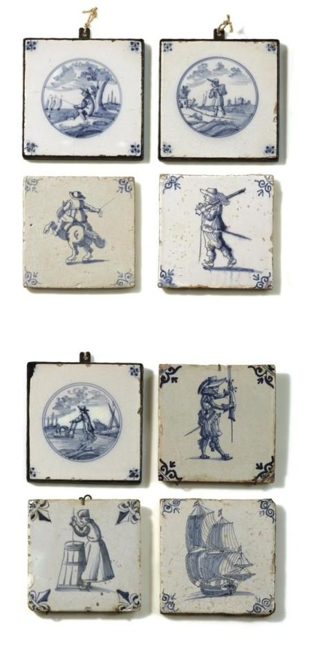 Историческая голландская изразцовая плитка