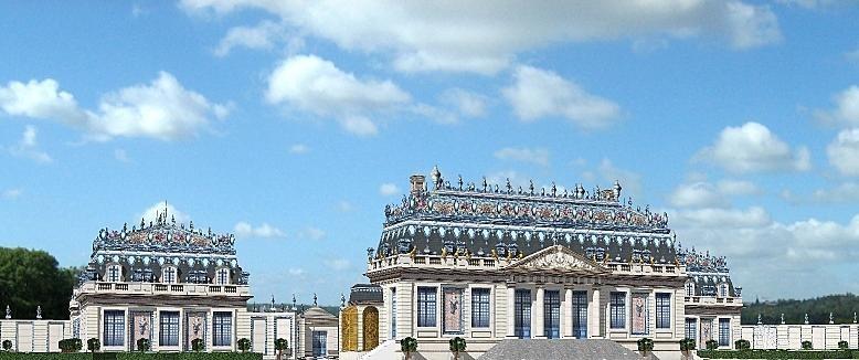 Малый Фарфоровый Трианнон французского Короля-Солнце