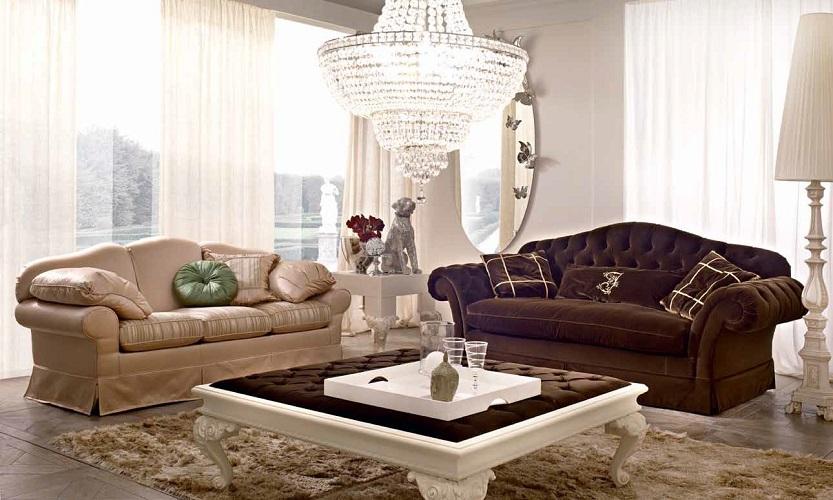 Страница каталога итальянского производителя мебели