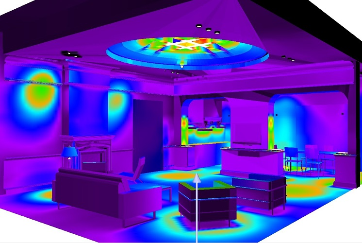 Визуализация освещения в программе DIALux evo