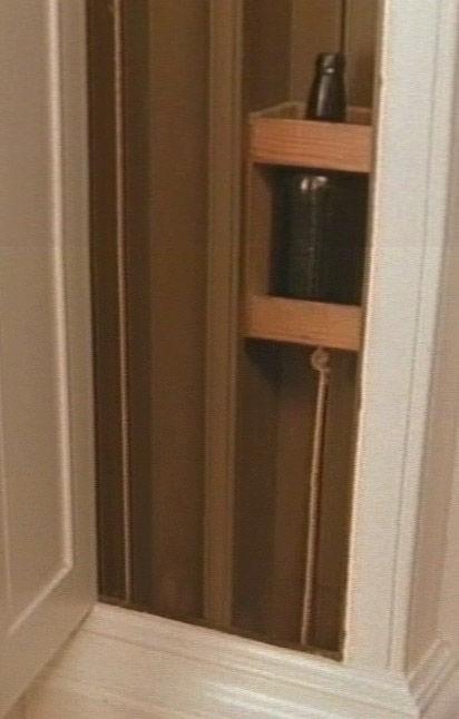 Лифт для винных бутылок, спроектированный Томасом Джефферсоном