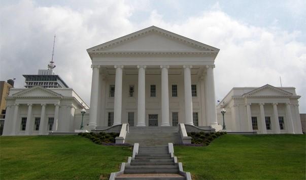 Современный вид капитолия штата Вирджиния
