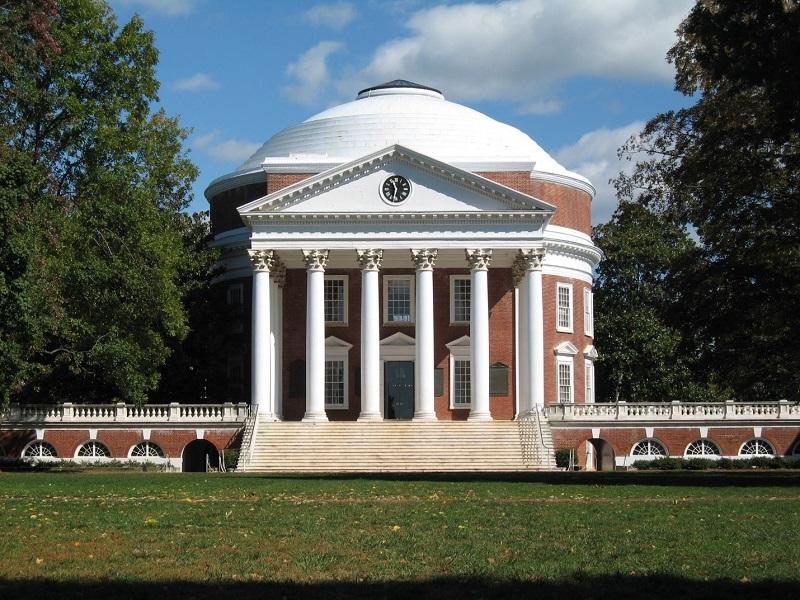 Современный вид ротонды Виргинского университета