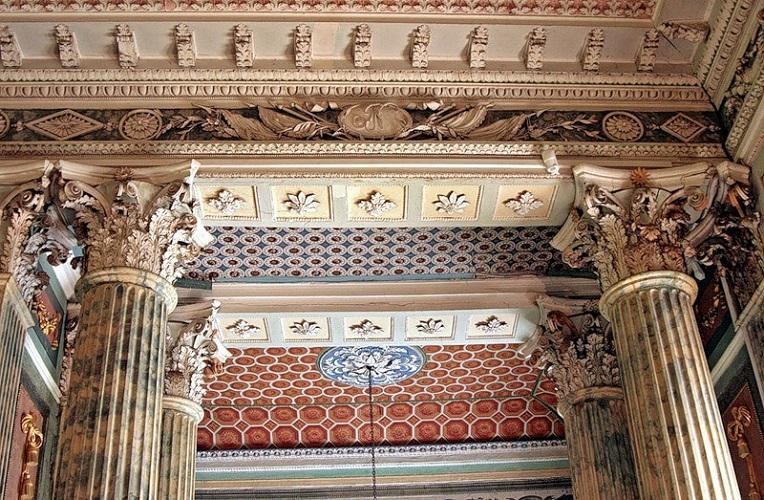 Интерьеры дворца Шереметьева в Останкино