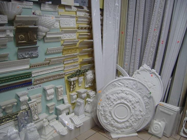 Магазин декоративных элементов декора из полиуретана