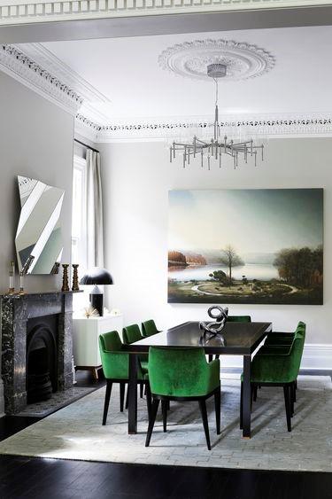 Картина в интерьере как источник цветовой палитры для интерьера