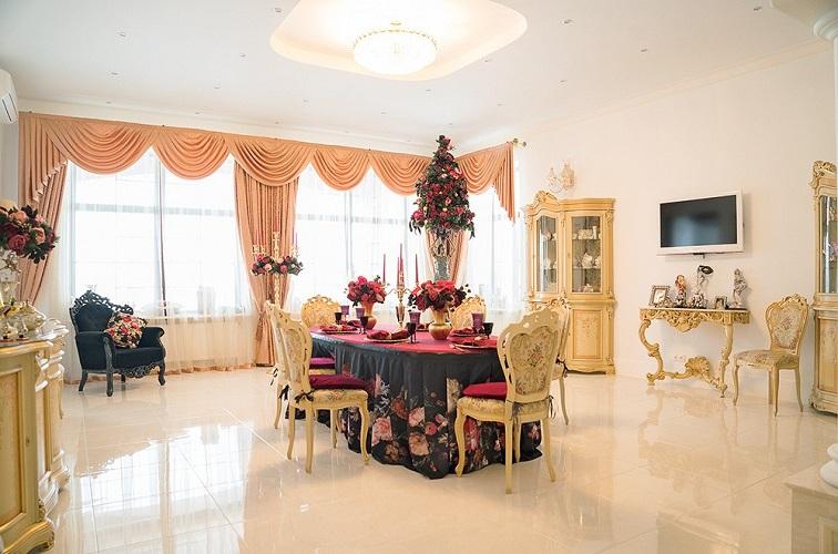 Столовая в доме Филиппа Киркорова