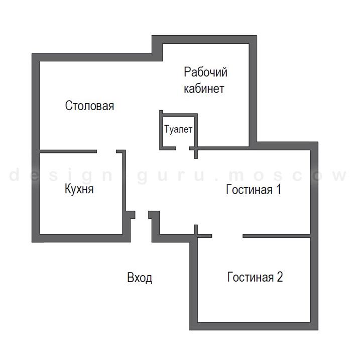 Улучшенная планировка дома