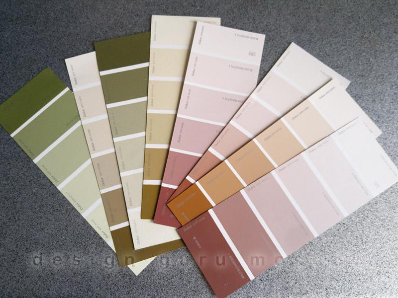 Образцы краски - веер