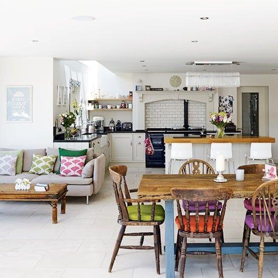 Открытая планировка в квартире или доме