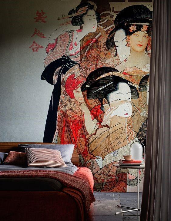 Японские мотивы в интерьере