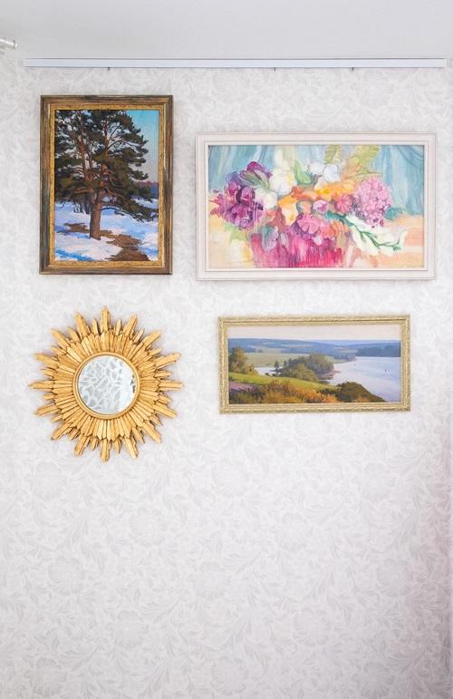 Картины в интерьере квартиры