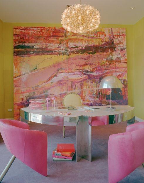 Интерьер, в цветах художественного полотна