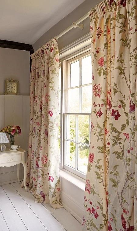 Текстиль в интерьере в стиле прованс
