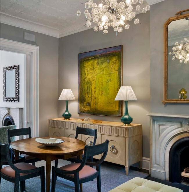 Интерьер квартиры в современной интерпретации классики