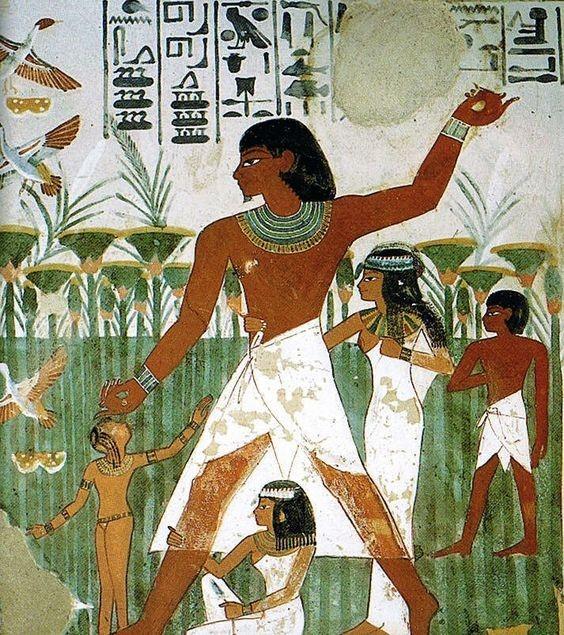 Фрагмент рисунка из Древнего Египта