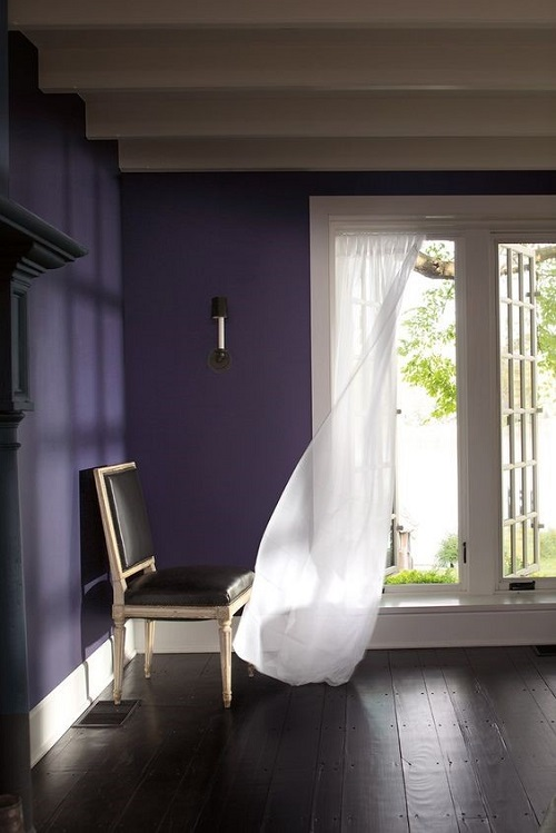 Пример интерьера в цвете Shadow (2117-30) от Benjamin Moore